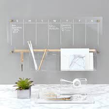 Russell + Hazel Acrylic Weekly Dry-Erase Calendar + Reviews | Crate and  Barrel
